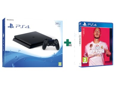 Sony PlayStation 4 - 500GB Slim F Chassis  & Fifa 20
