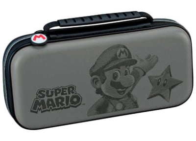 Big Ben Switch Deluxe Travel Case Mario - Θήκη μεταφοράς Nintendo Switch Γκρι