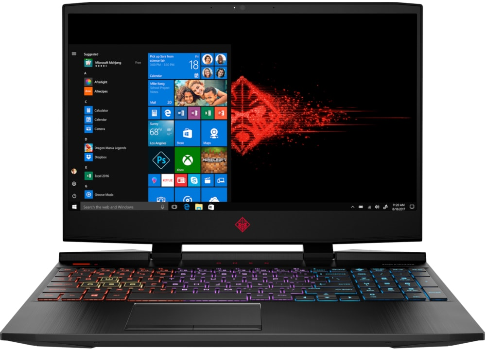 "Laptop HP Omen 15.6"" (i5-9300H/8GB/512GB SSD/NVIDIA GeForce RTX 2060 6GB) 15-dc1019nv"