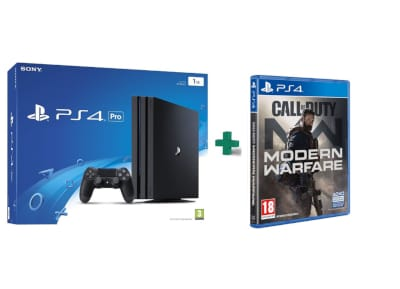Sony PlayStation 4 Pro - 1TB & Call Of Duty Modern Warfare