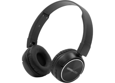 Bluetooth Headphones Crystal Audio BT-04 - Μαύρο