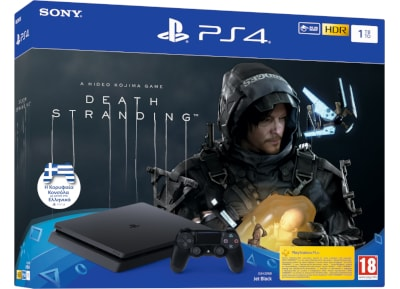 Sony PlayStation 4 Slim F Chassis - 1 TB & Death Stranding