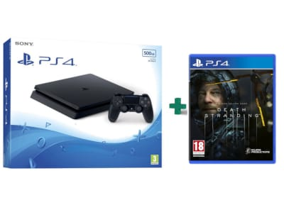 Sony PlayStation 4 - 500GB Slim F Chassis  & Death Stranding