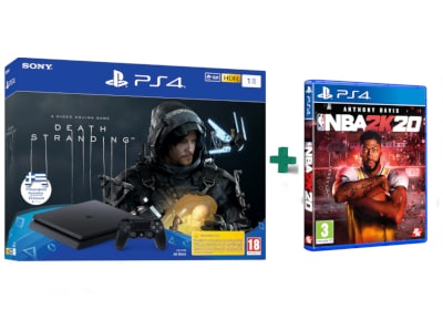 Sony PlayStation 4 Slim F Chassis - 1 TB & Death Stranding & NBA 2K20