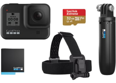Action Camera GoPro Hero8 Black Bundle