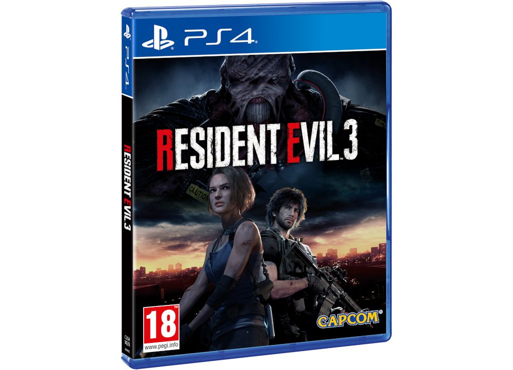 Resident Evil 3 Remake - PS4 Game