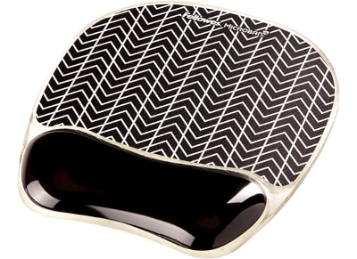 Mousepad Fellowes Photo Gel Wrist Support - Chevron