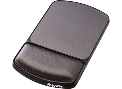 Mousepad Fellowes Premium Gel Angle Adjustable Wrist Support - Γραφίτι