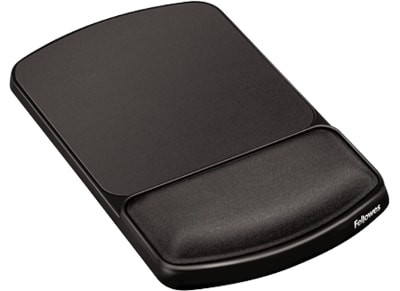 Mousepad Fellowes Premium Gel Angle Adjustable Wrist Support - Γραφίτι/ Πλατίνα