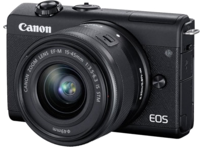 Mirrorless Canon EOS M200 15-45mm - Μαύρο
