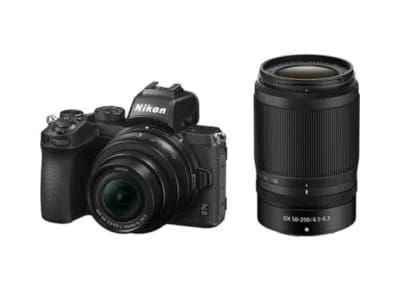 Mirrorless Nikon Z 50 Double Kit 16-50mm VR + 50-250mm