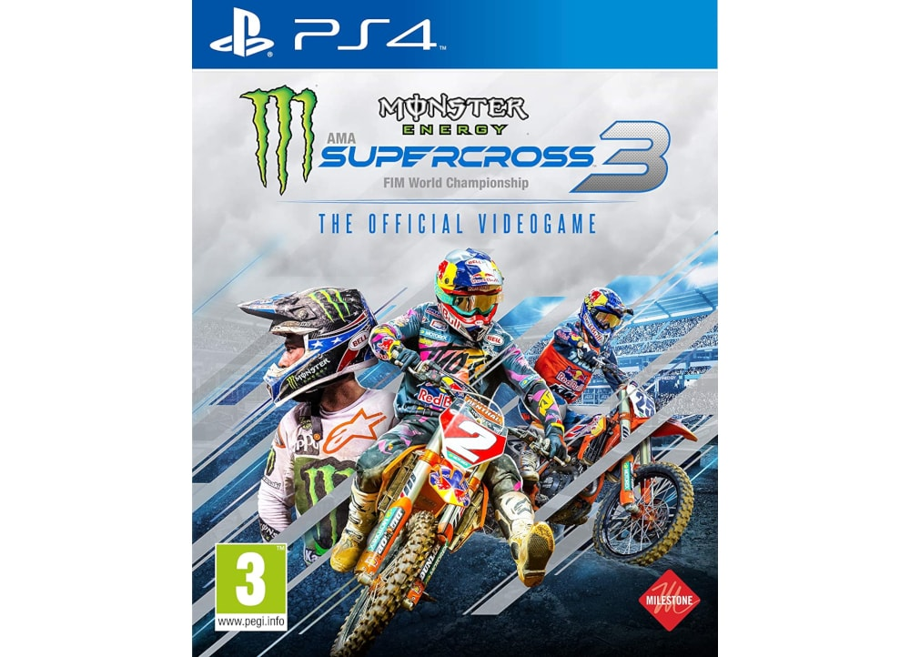 Monster Energy Supercross 3 - PS4 Game