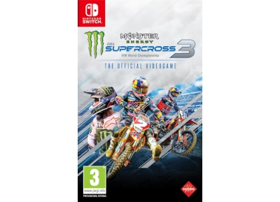 Monster Energy Supercross 3 – Nintendo Switch Game