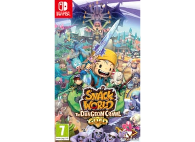 Snack World Dungeon Crawl – Gold Edition – Nintendo Switch Game