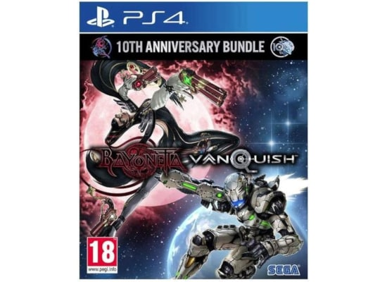 Bayonetta & Vanquish 10th Anniversary Bundle - PS4 Game