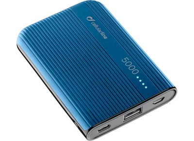 Powerbank Cellular Line 5000 mAh Μπλε