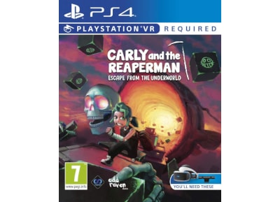 Carly and the Reaperman – Escape from the Underworld – PS4/PSVR Game