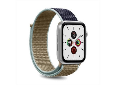 Puro Strap Apple Watch Sport Band Navy Blue