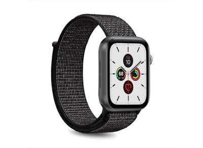 Puro Strap Apple Watch Sport Band Μαύρο