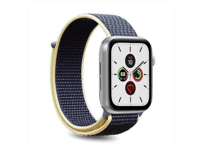 Puro Strap Apple Watch Sport Band Dark Blue