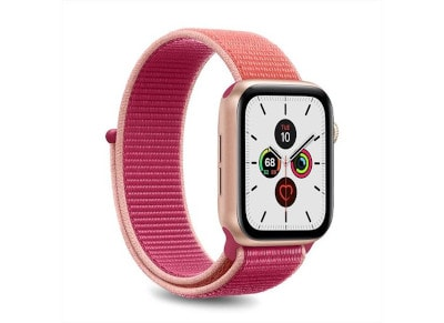Puro Strap Apple Watch Sport Band Sunset Pink