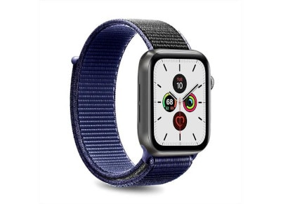 Puro Strap Apple Watch Sport Band Space Blue