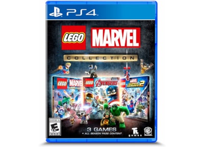 Lego Marvel Collection (3-pack) – PS4 Game