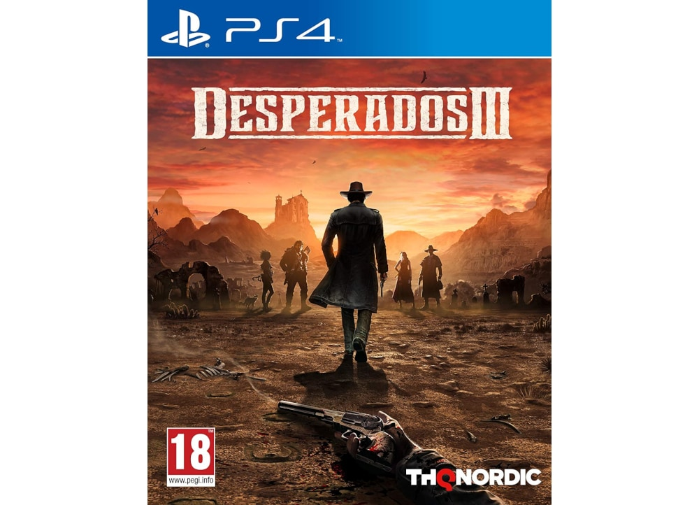 Desperados III - PS4 Game