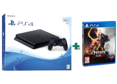 Sony PlayStation 4 - 500GB Slim D Chassis & Nioh 2