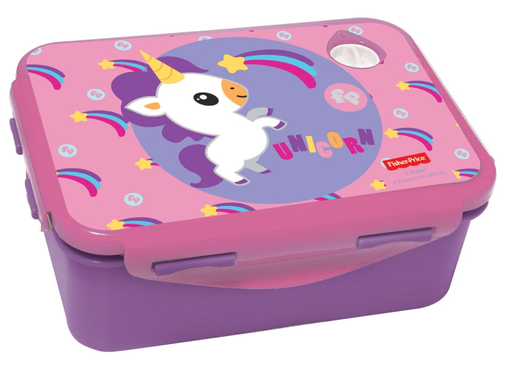 Δοχείο Φαγητού GIM Unicorn Rainbow Fisher Price