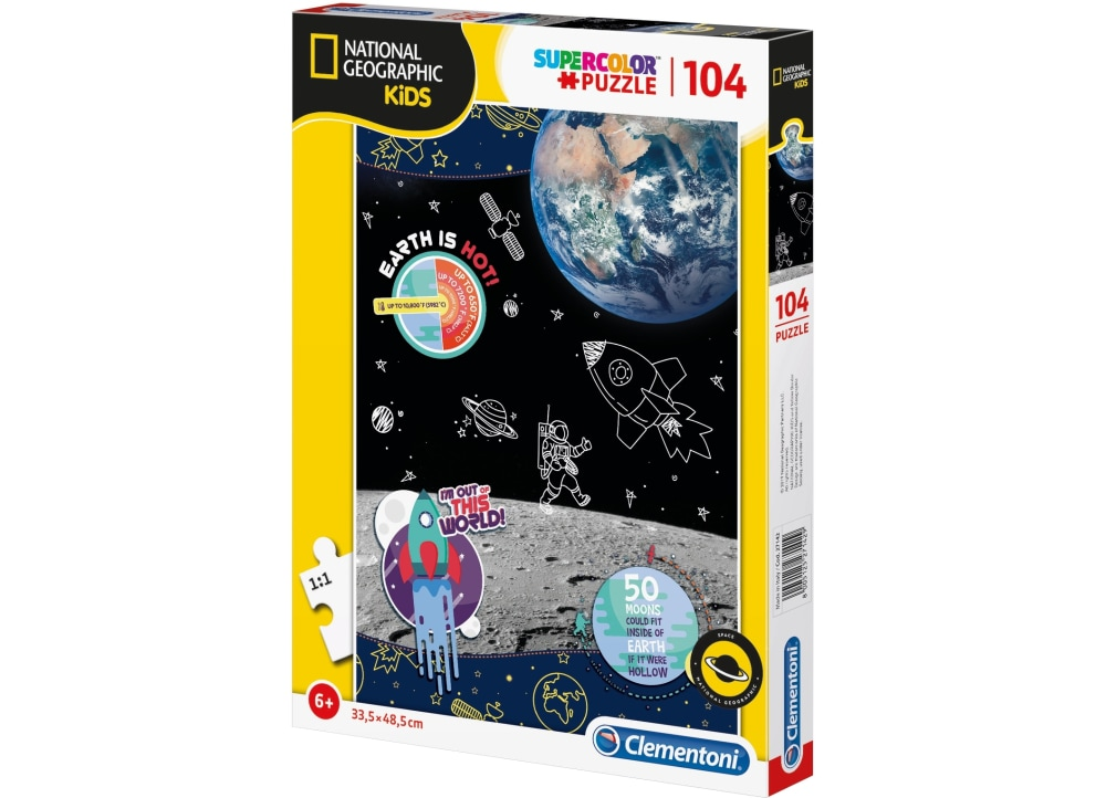 Παζλ 104 S.C. Natgeo Kids Space Explorer (104 Κομμάτια)
