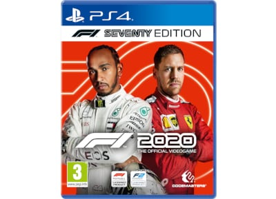 F1 2020 Seventy Steelbook Edition – PS4 Game