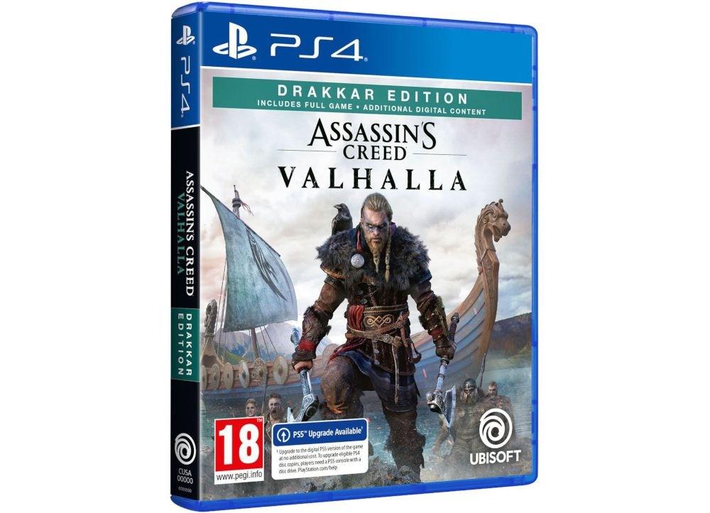 Assassin's Creed Valhalla Drakkar Edition - PS4 Game
