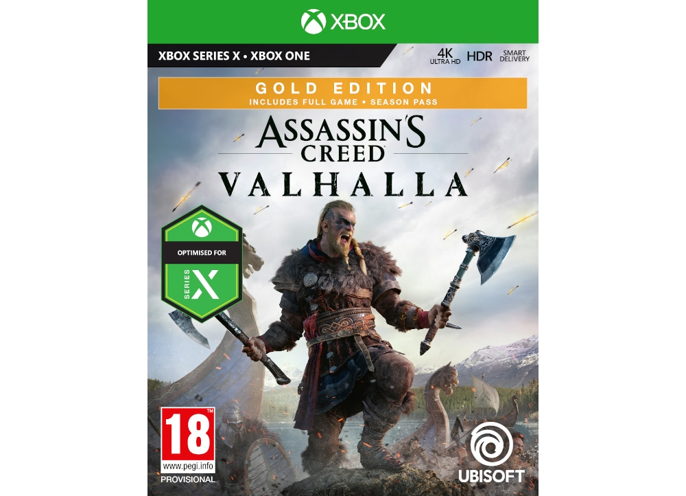 Assassin's Creed Valhalla Gold Edition - Xbox One Game