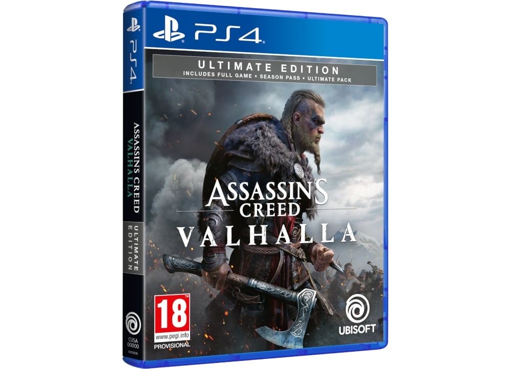 Assassin's Creed Valhalla Ultimate Edition - PS4 Game