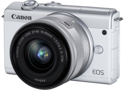 Mirrorless Canon EOS M200 15-45mm - Λευκό