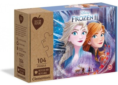 Παζλ Clementoni Frozen II Eco Play For Future (104 Κομμάτια)