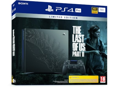 Sony PlayStation 4 Pro - 1TB & The Last Of Us Part 2