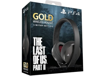 Sony PS4 Gold Gaming Wireless Headset - The Last Of Us Part 2