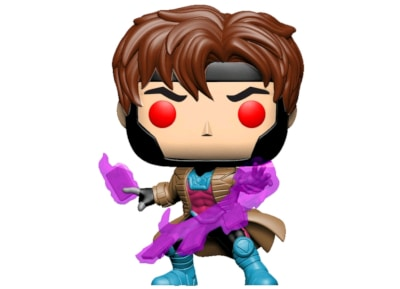 Φιγούρα Funko Pop! Marvel - X-Men - Gambit with cards Translucent Glow