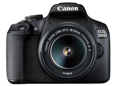 DSLR Canon EOS 2000D Kit 18-135mm IS SEE - Μαύρο
