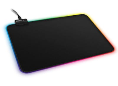 Gaming Mousepad Nod - R1 RGB -Μαύρο