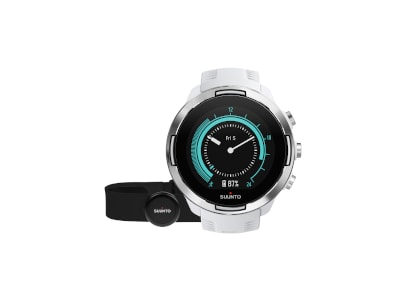 Smartwatch Suunto 9 G1 Baro White + Smart Belt