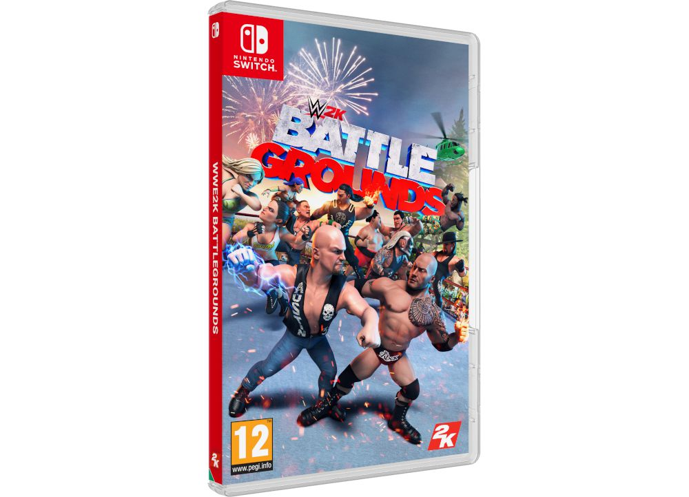 WWE 2K Battlegrounds - Nintendo Switch Game