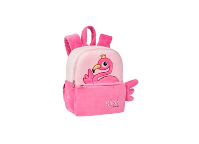 Τσάντα Πλάτης Safta Mini Plush 27cm - Flamingo