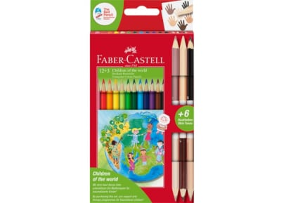 Pencils Faber Castell Color Triangul 12+3