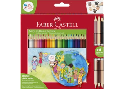 Pencils Faber Castell Color Triangul 24+3