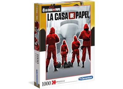 Παζλ La Casa De Papel The Money Hei Clementoni (1000 Κομματια)
