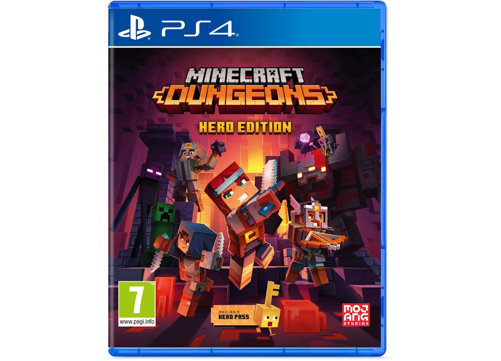 Minecraft Dungeons Hero Edition- PS4 Game