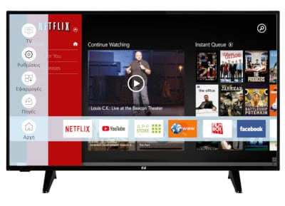 "Τηλεόραση F&U 43"" FHD LED Smart TV FLS43207"